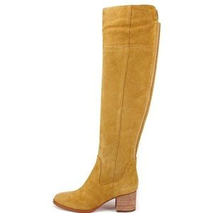 New Marc Fisher Over-The-Knee Escape Suede Boots